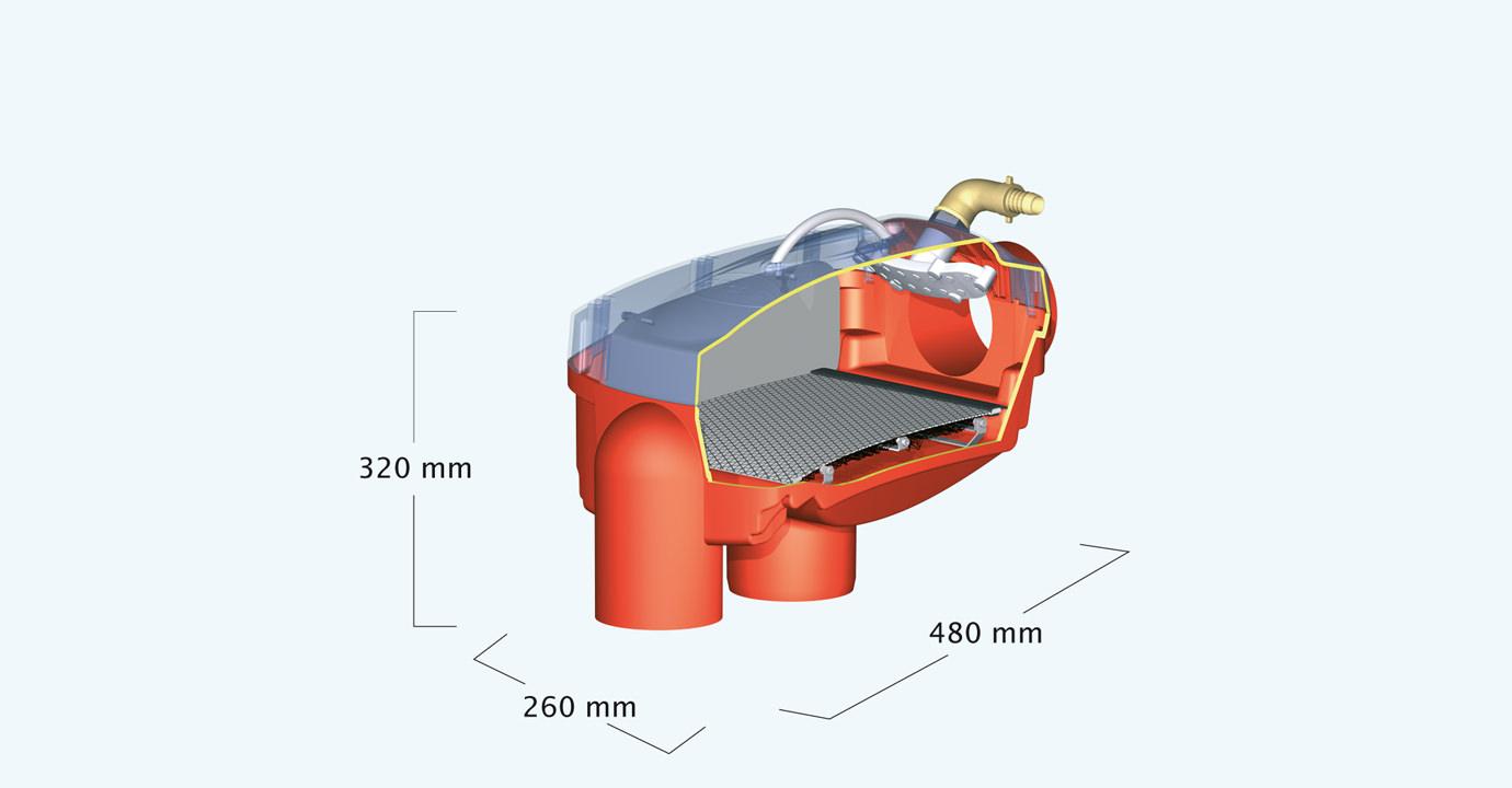graf optimax filtr intern 340037 pan fitinka. Black Bedroom Furniture Sets. Home Design Ideas