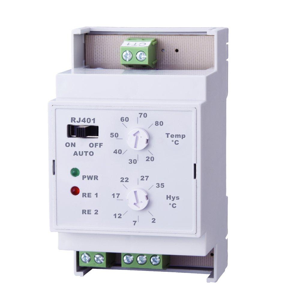 Elektrobock RJ401 teplotní spínač