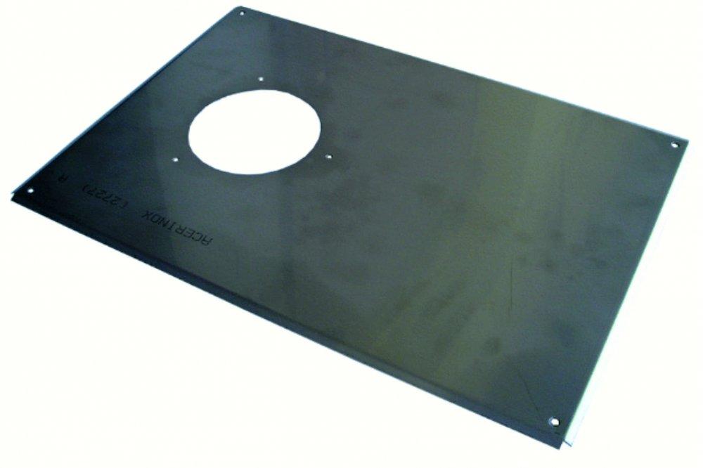 KVART krycí plech vnější nerez 111-0010