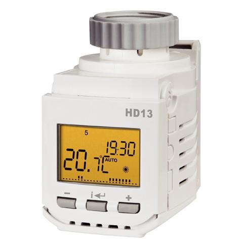Elektrobock HD13-L digitální termostatická hlavice 0174