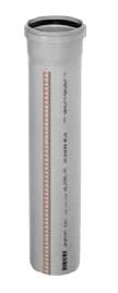 Osma Trubka s hrdlem HTEM DN32 x 500 mm