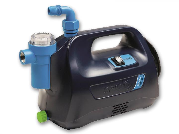 Přečerpávání vody z nádrží, studní, jímek