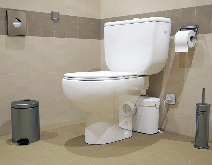 SANIBROY SANIACCESS 1 sanitární kalové čerpadlo
