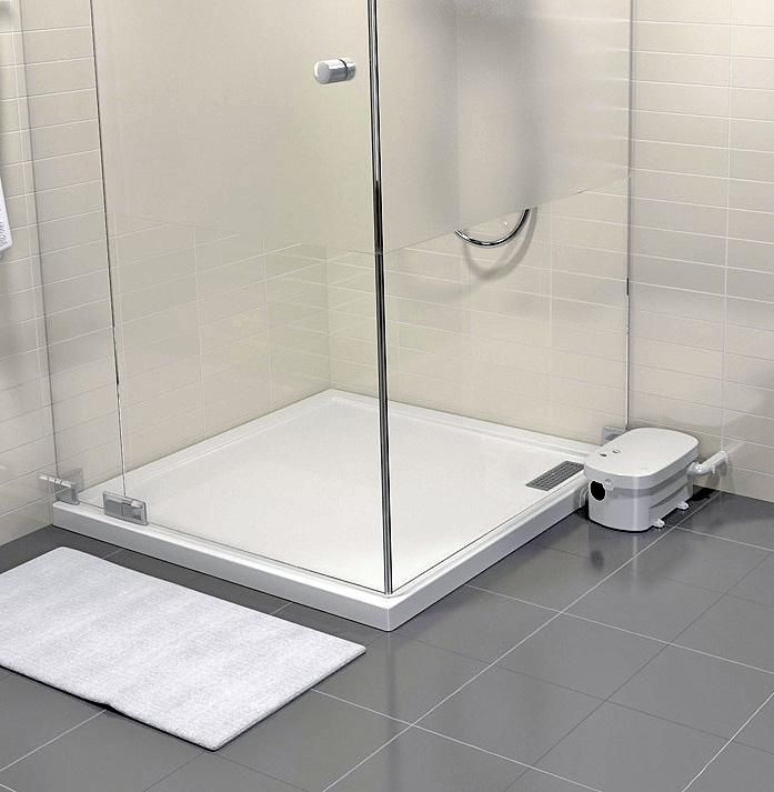 SANIBROY TRAYMATIC Extern čerpadlo + sprchová vanička