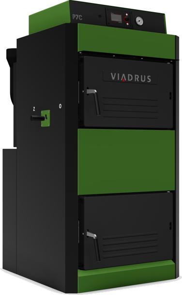Viadrus P7C 22 kW 5čl. dřevo