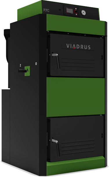 Viadrus P7C 38 kW 9čl. dřevo