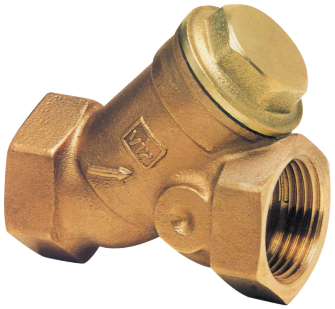 """VIR Y - filtr 1/2"""" x 1/2"""" FF bronz F9000B015.19"""