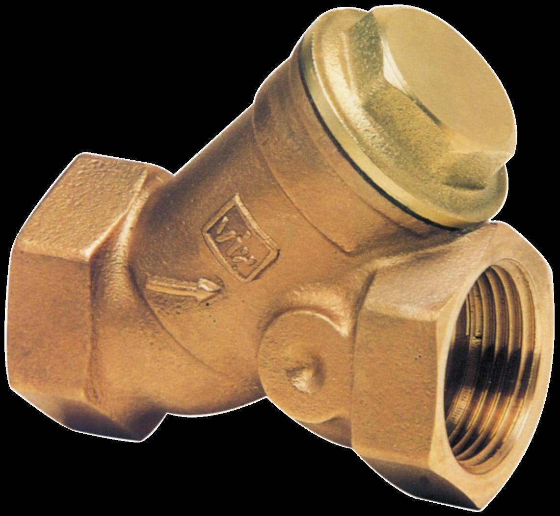 """VIR Y - filtr 2 1/2"""" x 2 1/2"""" FF bronz F9000B065.19"""