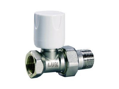 """Luxor RD101 ruční radiátorový ventil přímý 3/8"""" 11221700"""