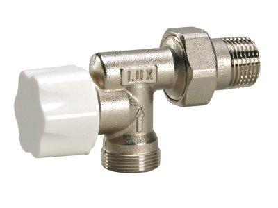 """Luxor M320 termostatický ventil boční 1/2"""" x 3/4"""" 13102721"""