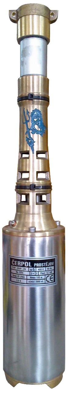 ČERPOL Olczak Čerpol OVP-V3 (400V) vřetenové čerpadlo ø 100mm - 15m kabel