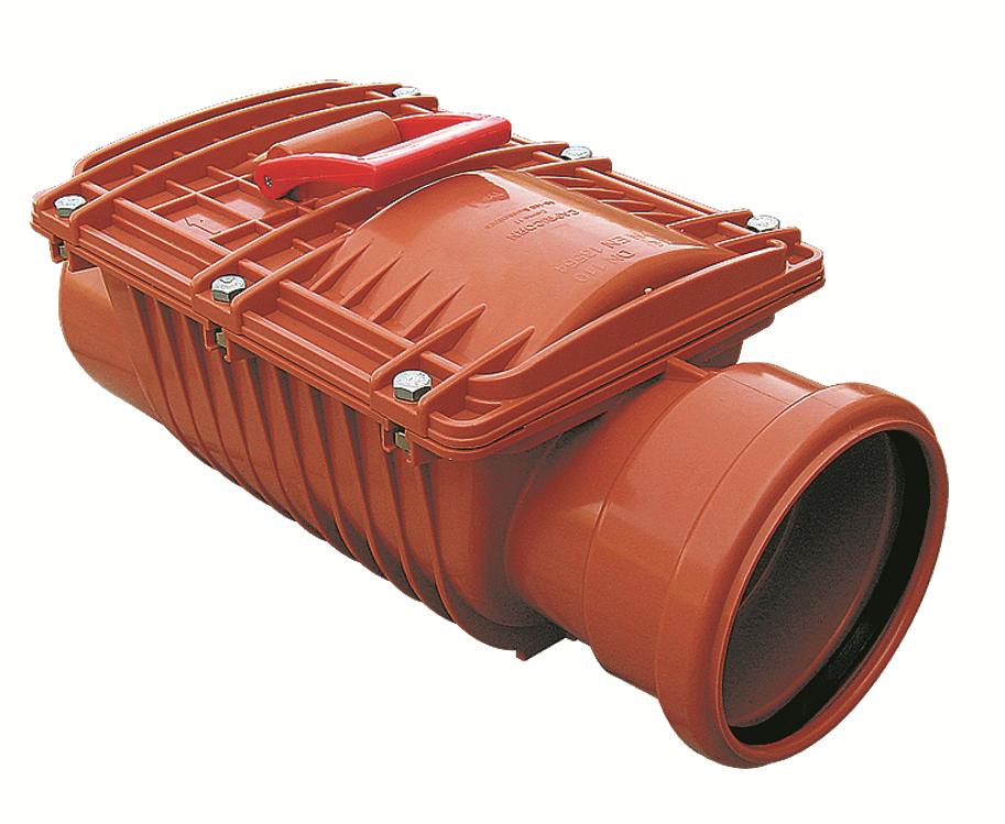 CAPRICORN S.A. kanalizační zpětná klapka jednoklapková DN125 9-5000-125-00-03-11