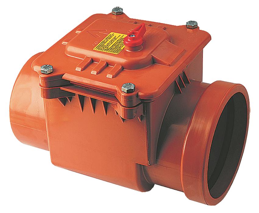 CAPRICORN S.A. kanalizační zpětná klapka jednoklapková DN160 9-5000-160-00-03-11