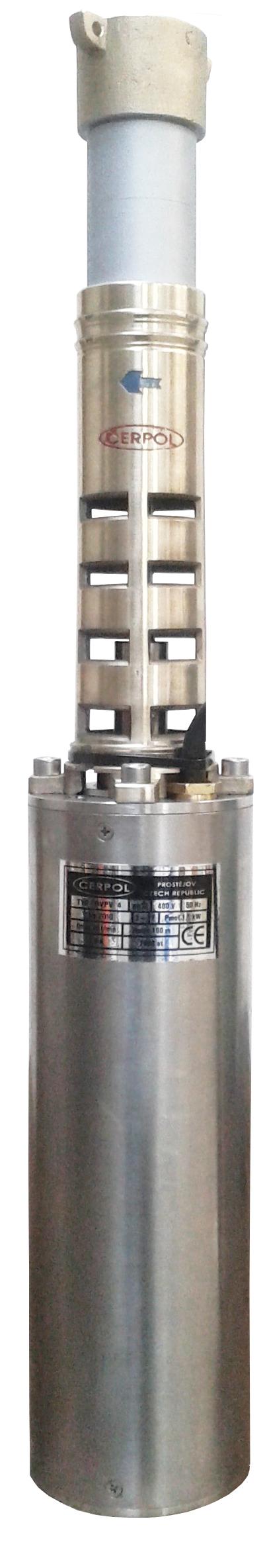 ČERPOL Olczak Čerpol OVP-V4 (400V) vřetenové čerpadlo ø 110mm - 15m kabel