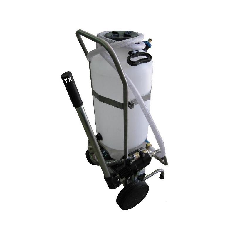 Euroacque plnicí, čisticí a testovací čerpadlový vozík SUN/PUMP/TX/4 SUNP04TX
