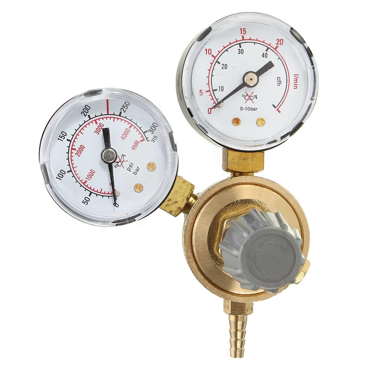 Euroacque regulátor tlaku pro plnitelnou CO2 nádobu RIDUXC02