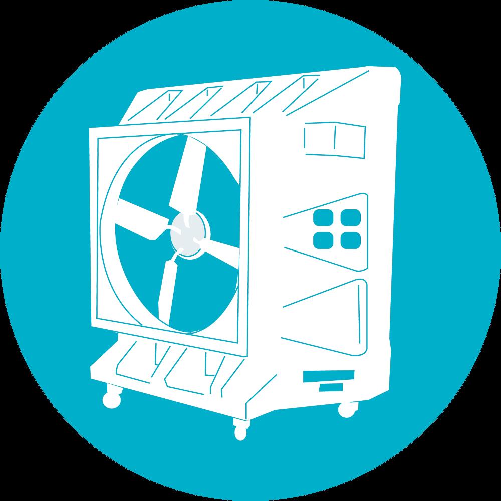 Odpařovací chladiče Portacool
