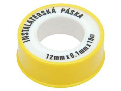 Páska teflonová 12mm x 10m voda TEFPV