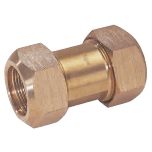 Gebo Brass 310 MO ⌀ 22 mm mosazná svěrná spojka pro měď 04.310.02.22