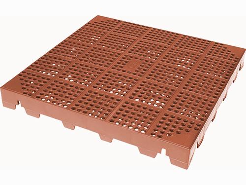 Geoplast Plastonella plastová dlaždice terakota FPLASRO4040