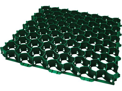 Geoplast SALVAVERDE-A plastová zatravňovací dlaždice zelená FSALVVN5050z