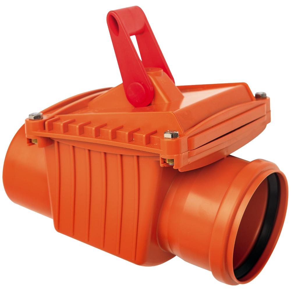 CAPRICORN S.A. kanalizační zpětná klapka jednoklapková DN110 9-5000-110-00-03-11