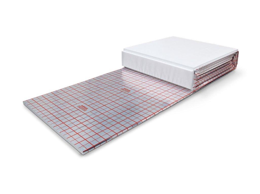 panfitinka.cz polystyrenová deska s fólií a rastrem EPS 100 1 x 10 m x 30 mm