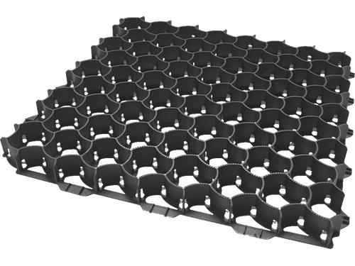 Geoplast SALVAVERDE-A plastová zatravňovací dlaždice šedá FSALVVN5050š