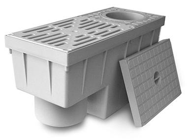 REDI lapač střešních splavenin DN 80/100 svislý Y663304