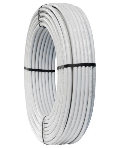 Vícevrstvé plastové potrubí rozbaleno