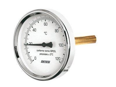 "Sitem teploměr bimetalový 1/2"" 100 mm"
