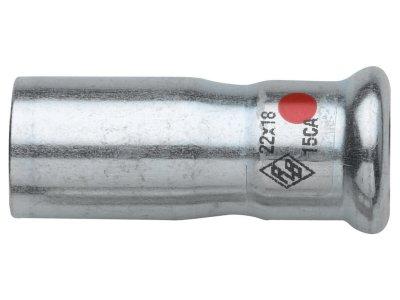 RB TURBO STEEL nátrubek redukovaný M/F lisovací uhlíková ocel
