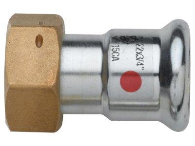 RB TURBO STEEL přechod s maticí lisovací uhlíková ocel
