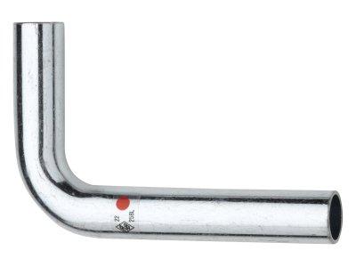 RB TURBO STEEL trubkový oblouk 90° lisovací uhlíková ocel