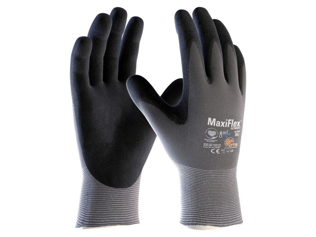 ATG MaxiFlex Ultimate 42-874 AD-APT ochranné rukavice