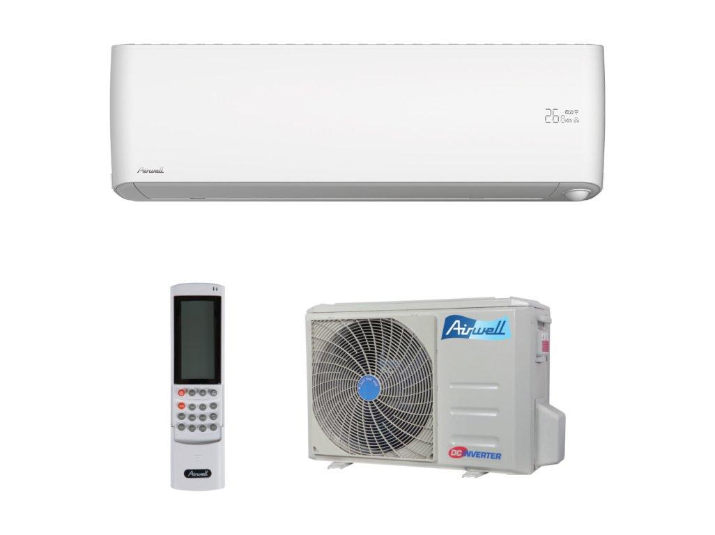 Airwell nástěnná split klimatizace HRD