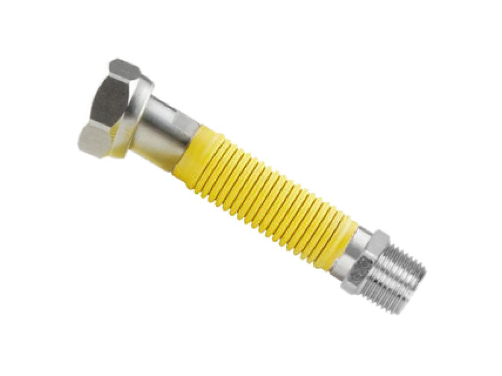 "Kuzuflex natahovací plynová hadice 1/2"" MF"