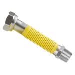 "Kuzuflex natahovací plynová hadice 1/2"" MF - 90 - 140 mm KZ12190140EXT"