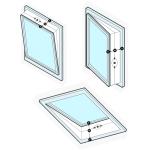 Těsnění oken pro mobilní klimatizace TOPMK01