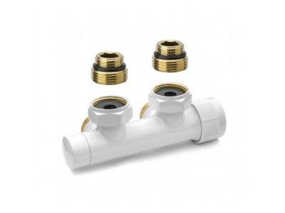 """APM termostatický H ventil 1/2"""" x 3/4"""" bílý"""