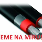 Nerezová trubka pro solární systém Eurotis Solar Thin Power - Řežeme na míru zdarma!
