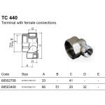 """Luxor TC 440 ukončení pro sanitární rozdělovače 3/4"""" 68502708"""