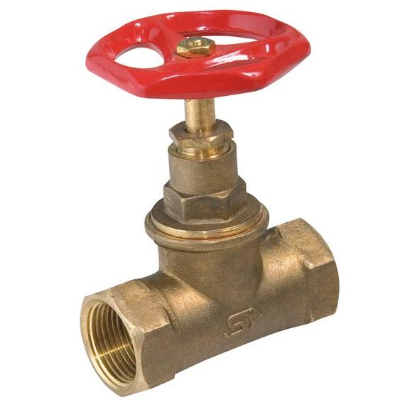 Uzavírací vřetenové ventily na vodu