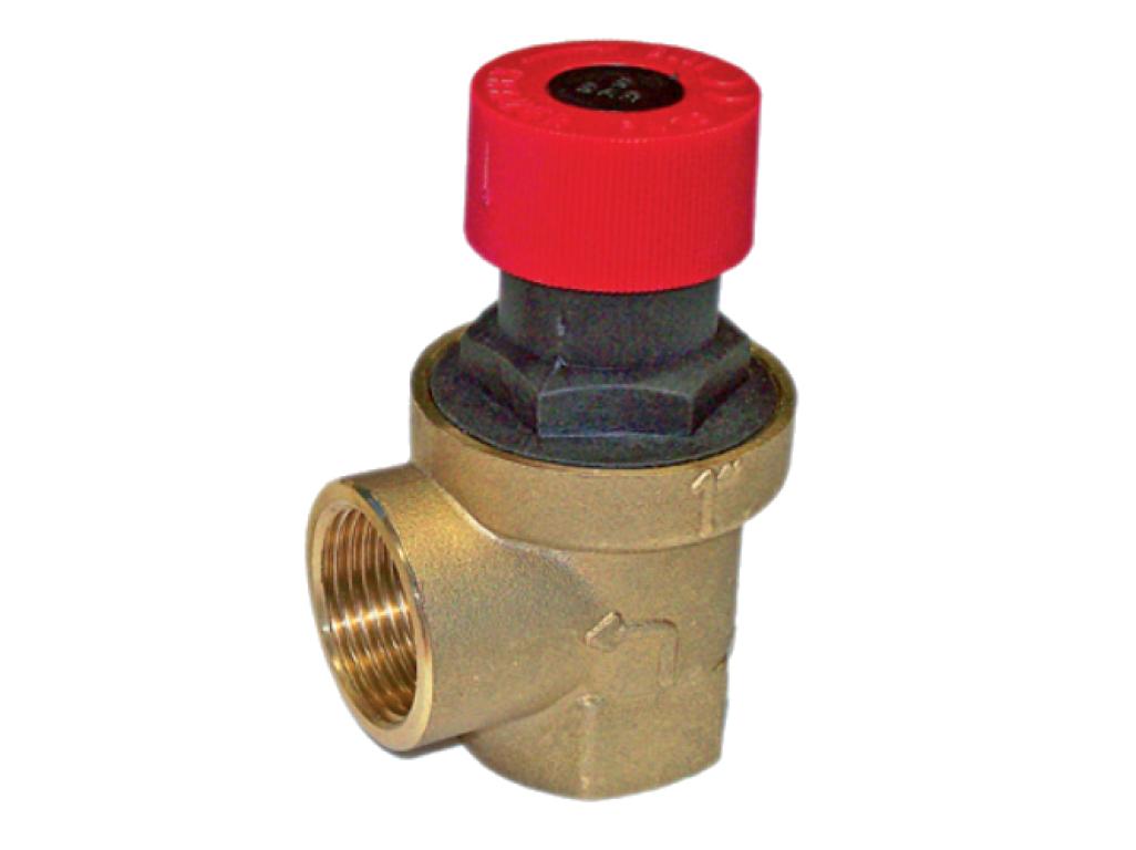 "KRAMER pojistný ventil SRO/F 1"" 8 bar 0111"
