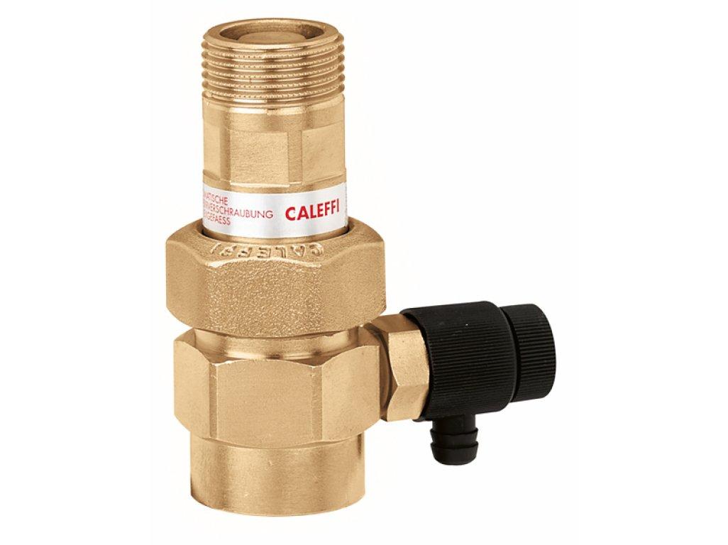 """CALEFFI automatický uzavírací ventil 3/4"""" s odvzdušněním pro expanzní nádrže 558510"""