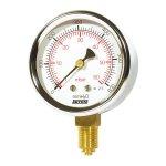"""Sitem manometr na plyny 1/2"""" spodní - 0-100 mbar/mmH2O MM10100ML"""