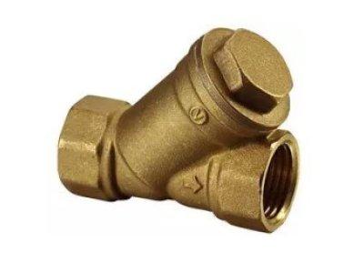 """VALVEX mosazný filtr s nerezovou vložkou 6/4"""" FF 4990040"""