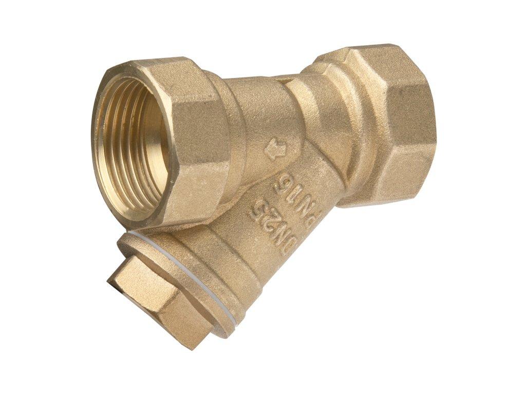 """APM mosazný filtr s nerezovou vložkou 2½"""" FF 4500065"""