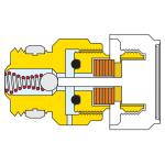 CALEFFI 5080 automatický hygroskopický odvzdušňovací ventil pro radiátory