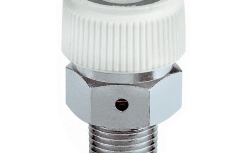 """CALEFFI 5080 automatický hygroskopický odvzdušňovací ventil k radiátorům 1/8"""""""